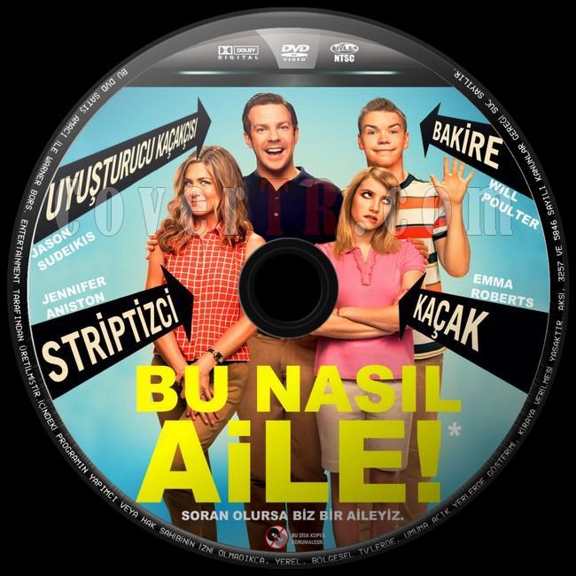 We're the Millers  (Bu Nasıl Aile!) - Custom Dvd Label - Türkçe [2013]-bu-nasil-aile-2jpg