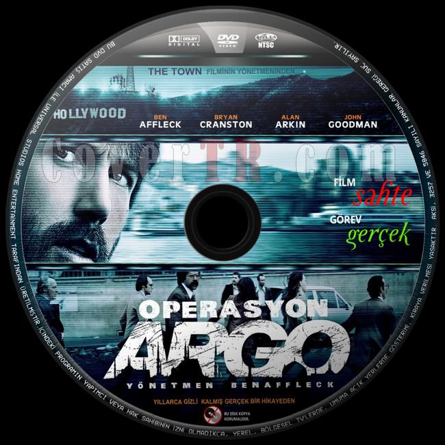 Argo (Operasyon: Argo) - Custom Dvd Label - Türkçe [2012]-operasyon-argo-1jpg