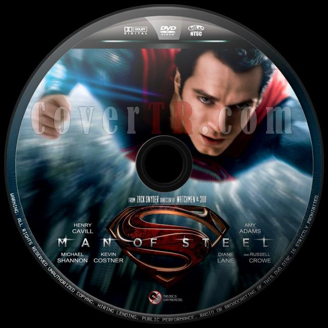 Man of Steel  - Custom Dvd Label - English [2013]-man-steel-2jpg