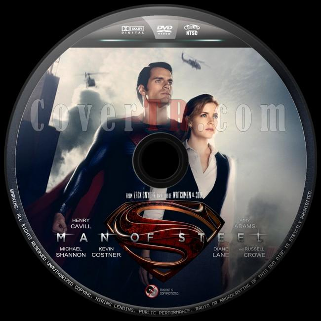 Man of Steel  - Custom Dvd Label - English [2013]-man-steel-8jpg
