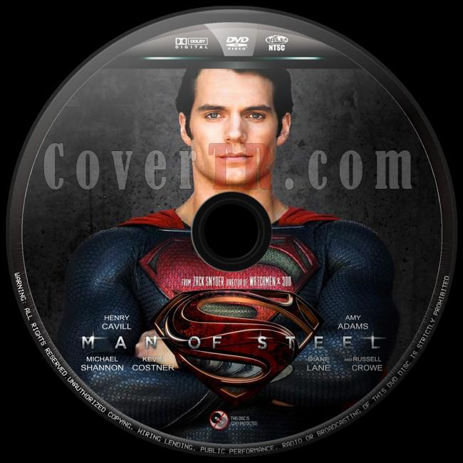 Man of Steel  - Custom Dvd Label - English [2013]-man-steel-10jpg