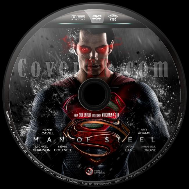 Man of Steel  - Custom Dvd Label - English [2013]-man-steel-12jpg