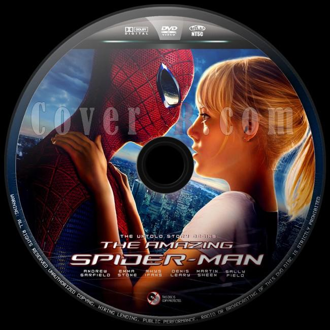 The Amazing Spider-Man (İnanılmaz Örümcek Adam) - Custom Dvd Label - English [2012]-inanilmaz-orumcek-adam-2jpg