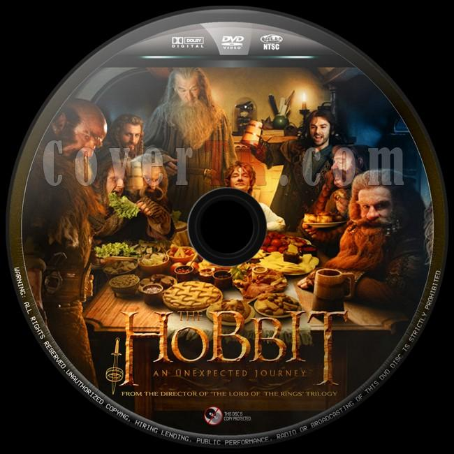 The Hobbit An Unexpected Journey (Hobbit Beklenmedik Yolculuk) - Custom Dvd Label - English [2012]-hobbit-beklenmedik-yolculuk-4jpg
