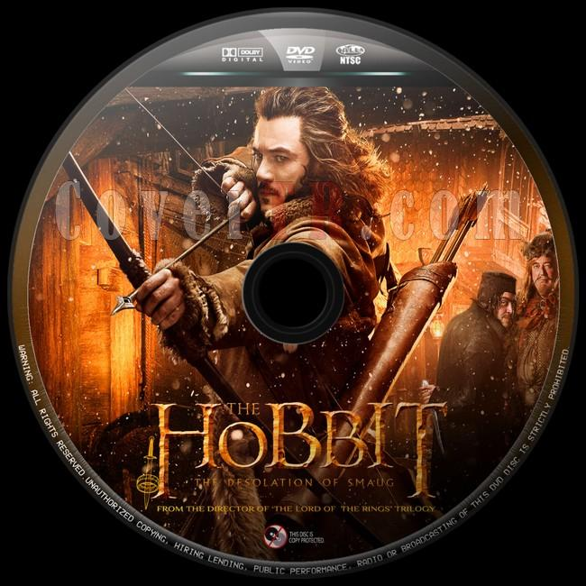 The Hobbit The Desolation of Smaug  (Hobbit Smaug'un Viranesi)  - Custom Dvd Label - English [2013]-hobbit-smaugun-viranesi-4jpg