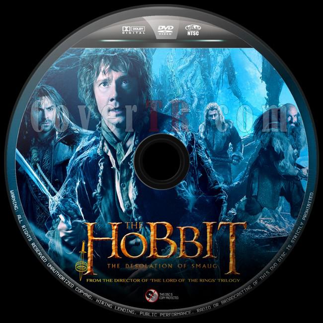 The Hobbit The Desolation of Smaug  (Hobbit Smaug'un Viranesi)  - Custom Dvd Label - English [2013]-hobbit-smaugun-viranesi-6jpg