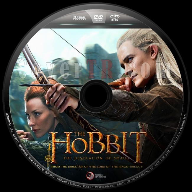 The Hobbit The Desolation of Smaug  (Hobbit Smaug'un Viranesi)  - Custom Dvd Label - English [2013]-hobbit-smaugun-viranesi-8jpg