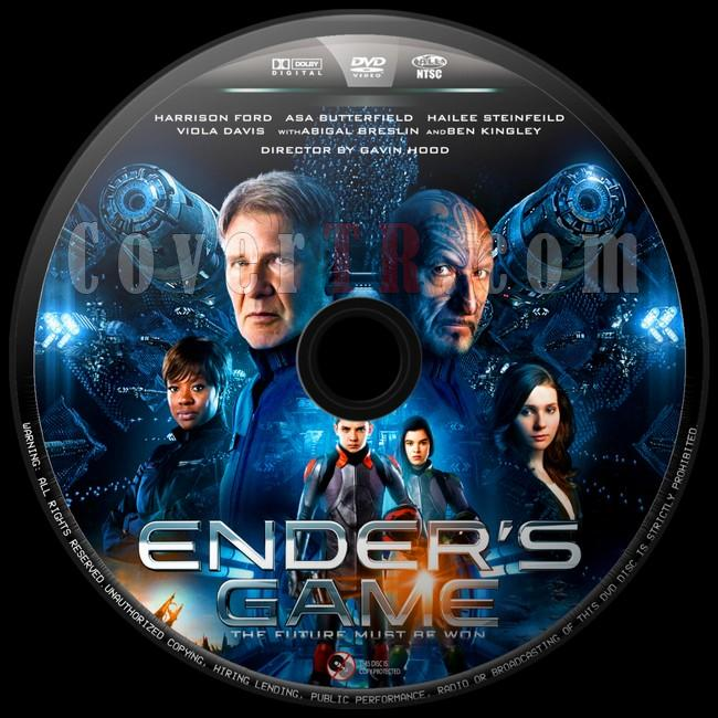 Ender's Game (Uzay Oyunları) - Custom Dvd Label - English [2013]-uzay-oyunlari-4jpg