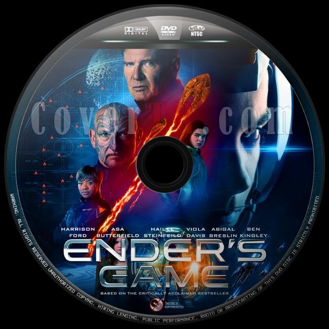 Ender's Game (Uzay Oyunları) - Custom Dvd Label - English [2013]-uzay-oyunlari-6jpg