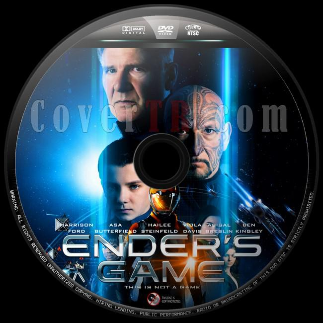 Ender's Game (Uzay Oyunları) - Custom Dvd Label - English [2013]-uzay-oyunlari-8jpg