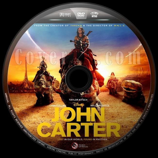 John Carter  (John Carter: İki Dünya Arasında) - Custom Dvd Label - English [2012]-john-carter-2jpg