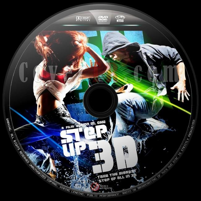 Step Up 3D  (Sokak Dansı 3D) - Custom Dvd Label - English [2010]-sokak-dansi-6jpg