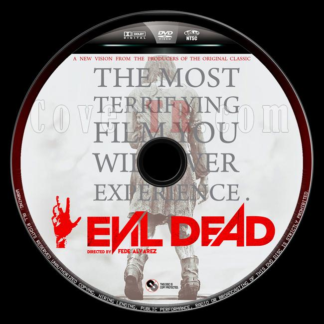 Evil Dead  (Kötü Ruh) - Custom Dvd Label - English [2013]-evil-dead-4jpg