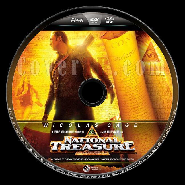 National Treasure (Büyük Hazine) - Custom Dvd Label - English [2004]-buyuk-hazine-8jpg
