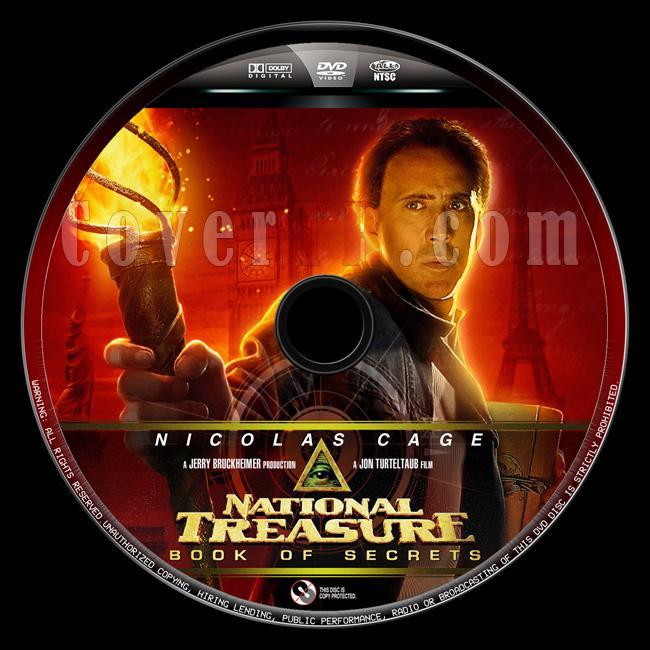 National Treasure: Book of Secrets (Büyük Hazine: Sırlar Kitabı) - Custom Dvd Label - English [2007]-buyuk-hazine-2-8jpg