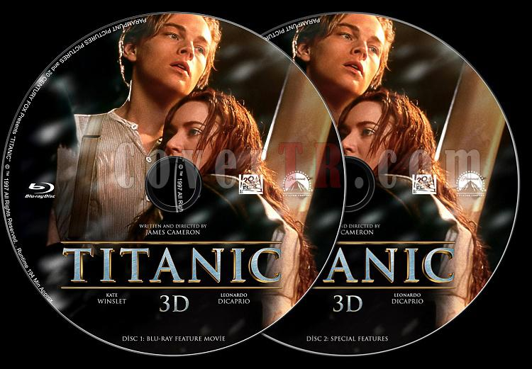Titanic - Custom Dvd Label - English [1997]-disc-2jpg