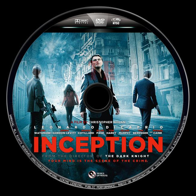 Inception (Başlangıç) - Custom Dvd Label - English [2010]-baslangic-10jpg