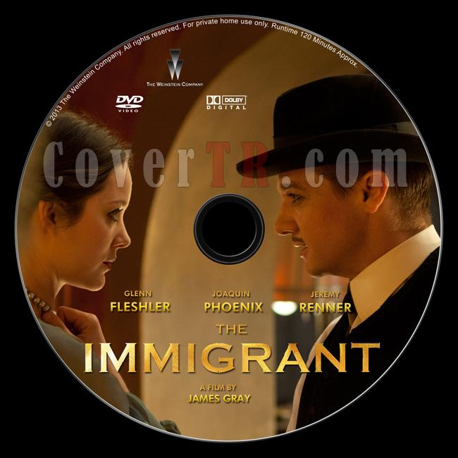 The Immigrant - Custom Dvd Label - English [2013]-immigrant-dvd-labeljpg