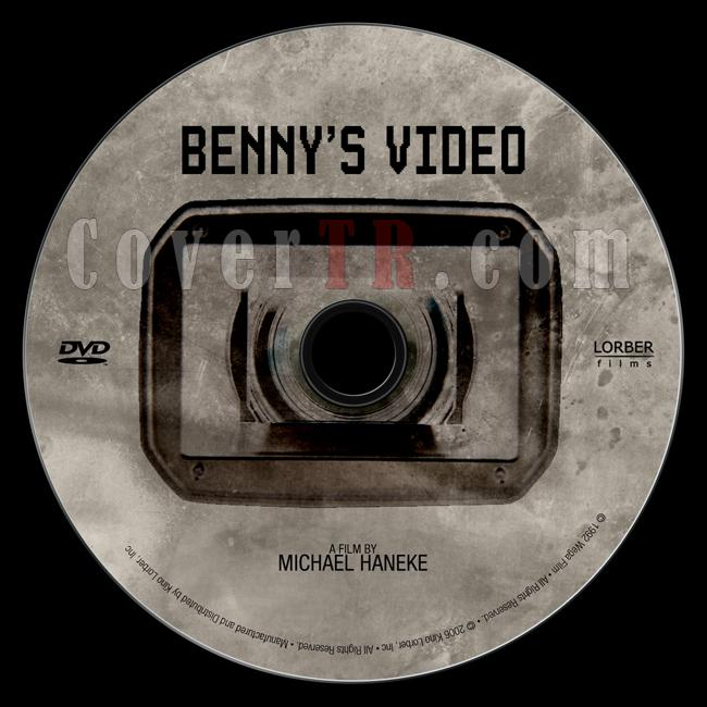 Benny's Video (Benny'nin Videosu) - Custom Dvd Label - English [1992]-benny_s_video_labeljpg