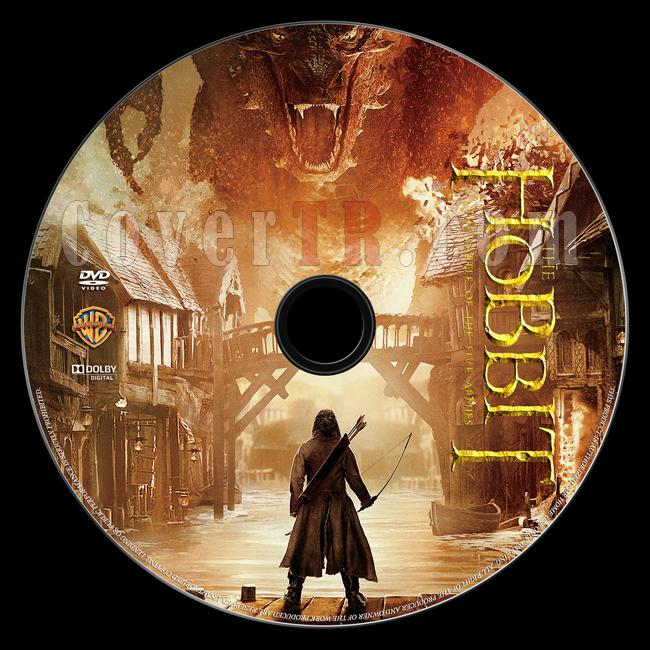 The Hobbit: The Battle of Five Armies (Hobbit: Beş Ordunun Savaşı) - Custom Dvd Label - English [2014]-onizlemejpg