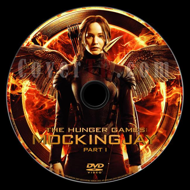 The Hunger Games: Mockingjay - Part 1 (Açlık Oyunları: Alaycı Kuş - Bölüm 1) - Custom Dvd Label - English [2014]-onizlemejpg