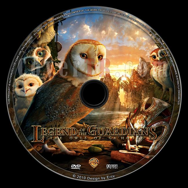 Legend of the Guardians: The Owls of Ga'Hoole - Custom Dvd Label - English [2010]-legendoftheguardiansjpg