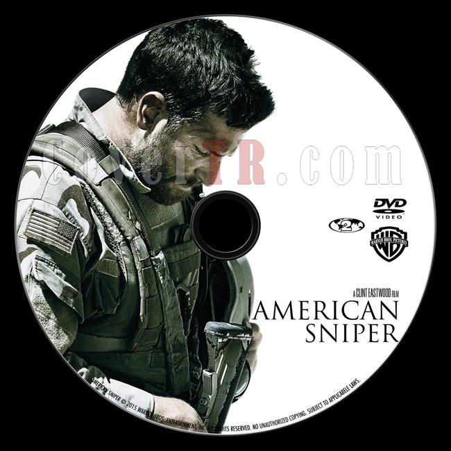 American Sniper (Keskin Nişancı) - Custom Dvd Label - English [2014]-onizlemejpg