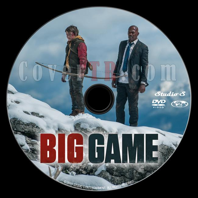 Big Game (Büyük Oyun) - Custom Dvd Label - English [2014]-onizlemejpg