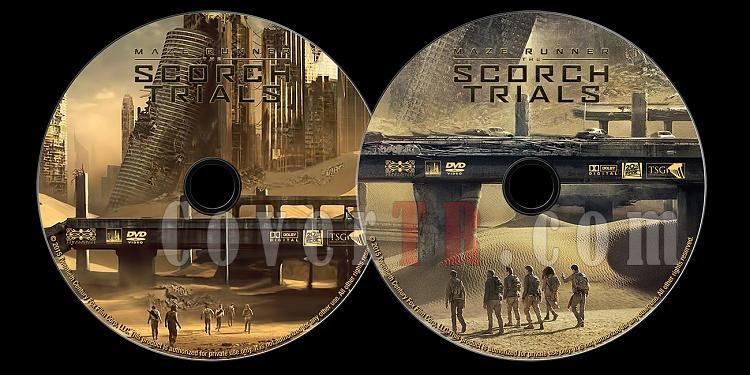 Maze Runner: The Scorch Trials - Custom Dvd Label - English [2015]-untitled-1jpg