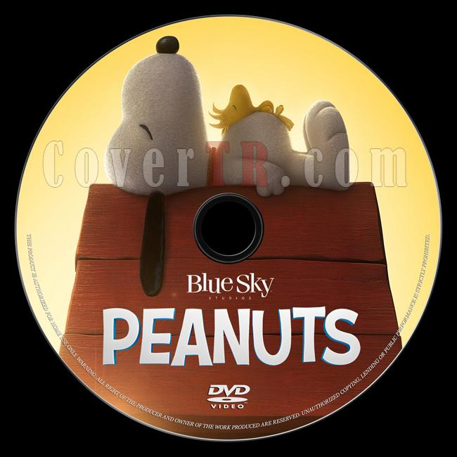 The Peanuts Movie (Snoopy ve Charlie Brown Peanuts Filmi) - Custom Dvd Label - English [2015]-onizlemejpg
