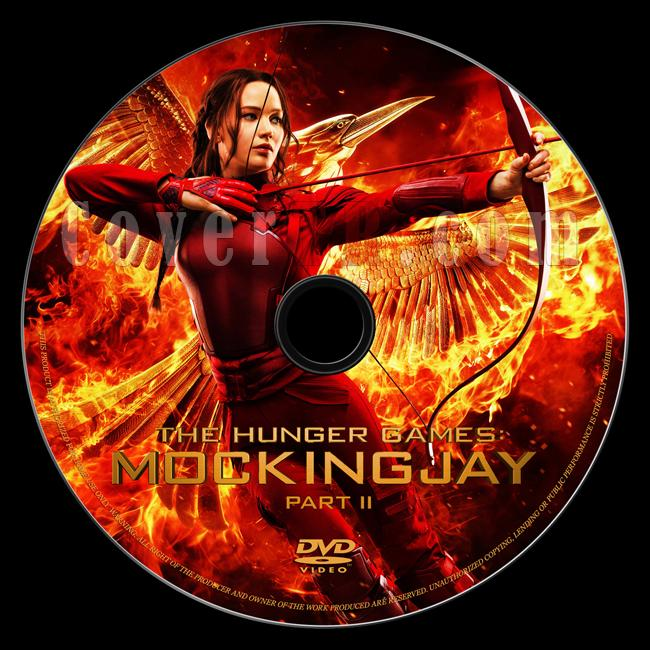 The Hunger Games: Mockingjay - Part 2 (Açlık Oyunları: Alaycı Kuş - Bölüm 2) - Custom Dvd Label - English [2015]-onizlemejpg