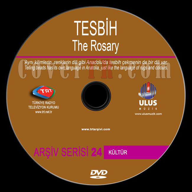 TRT Arşiv Serisi - 24 Tesbih (The Rosary) - Custom Dvd Label - Türkçe / English-trt-arsiv-serisi-24-tesbihjpg
