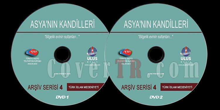 TRT Arşiv Serisi - 04 Asya'nın Kandilleri - Custom Dvd Label - Türkçe-trt-arsiv-serisi-04-asyanin-kandillerijpg