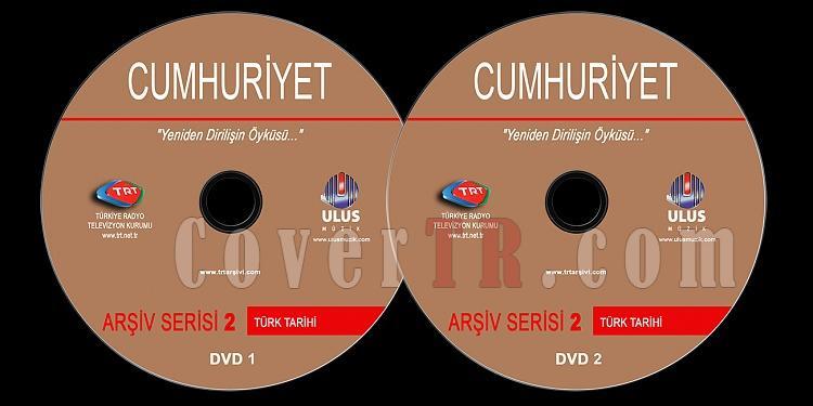 TRT Arşiv Serisi - 02 Cumhuriyet - Custom Dvd Label - Türkçe-trt-arsiv-serisi-02-cumhuriyetjpg