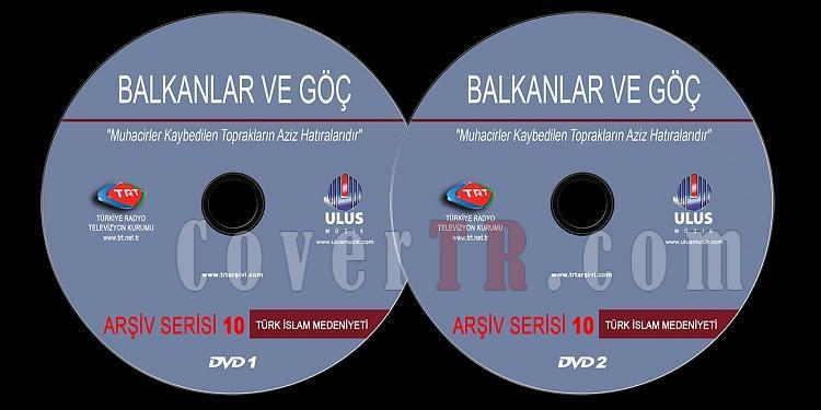 TRT Arşiv Serisi - 10 Balkanlar Ve Göç - Custom Dvd Label - Türkçe-trt-arsiv-serisi-10-balkanlar-ve-gocjpg