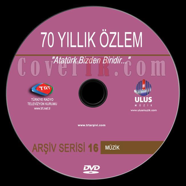 TRT Arşiv Serisi - 16 70 Yıllık Özlem - Custom Dvd Label - Türkçe-trt-arsiv-serisi-16-70-yillik-ozlemjpg