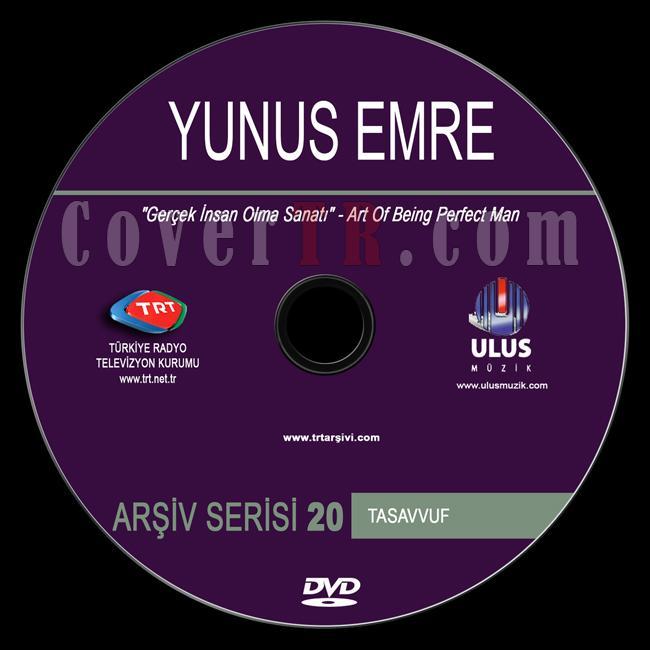 TRT Arşiv Serisi - 20 Yunus Emre - Custom Dvd Label - Türkçe / English-trt-arsiv-serisi-20-yunus-emrejpg