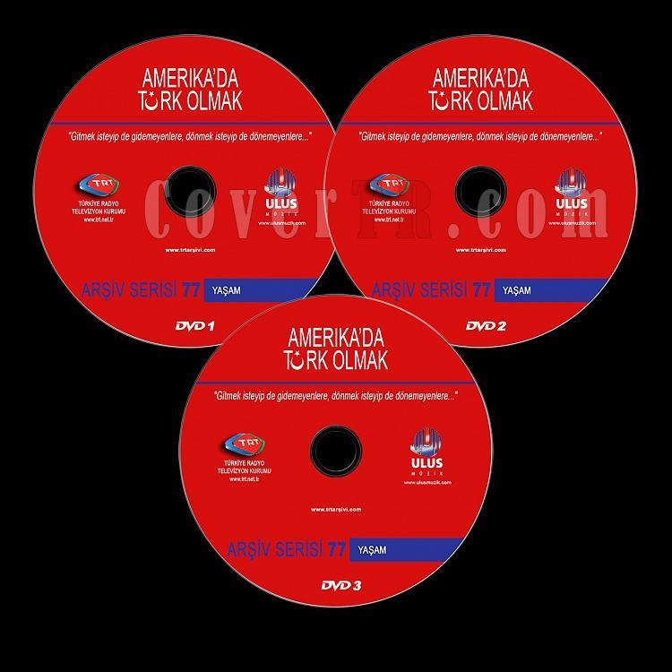 TRT Arşiv Serisi - 77 Amerika'da Türk Olmak - Custom Dvd Label - Türkçe-trt-arsiv-serisi-77-amerikada-turk-olmakjpg