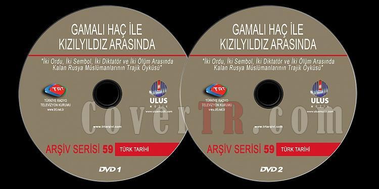 TRT Arşiv Serisi - 59 Gamali Haç ile Kızıl Yıldız Arasında - Custom Dvd Label - Türkçe-trt-arsiv-serisi-59-gamali-hac-ile-kizil-yildiz-arasindajpg