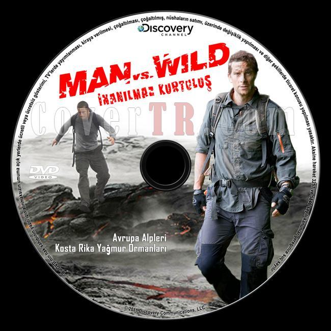 Man VS Wild (Discovery: inanılmaz Kurtuluş) - Custom Dvd Label - Türkçe [2006]-discovery-inanilmaz-kurtulus-man-vs-wildjpg