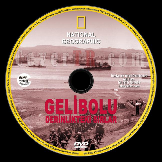 National Geographic: Gallipoli's Deep Secrets (Gelibolu Derinlikteki Sırlar) - Custom Dvd Label - Türkçe [2006]-national-geographic-gelibolu-derinlikteki-sirlarjpg