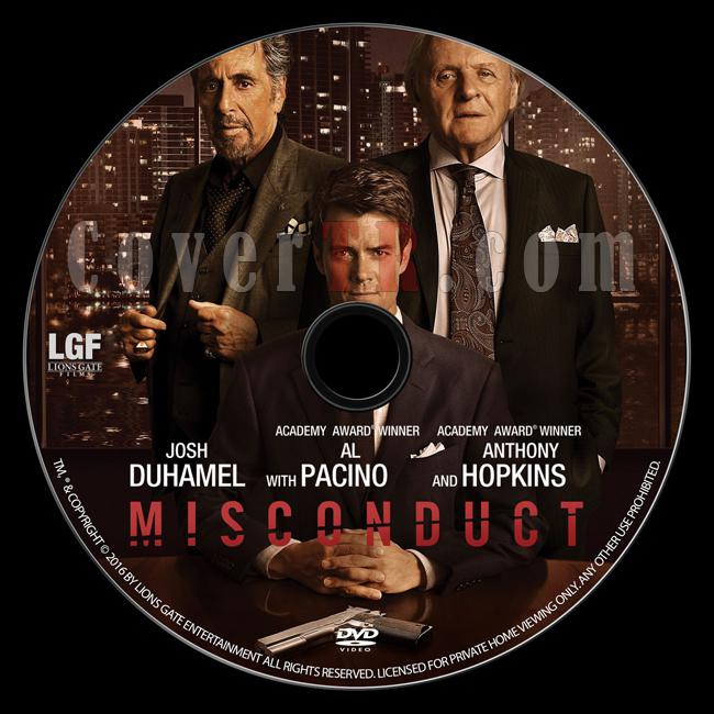 Misconduct - Custom Dvd Label - English [2016]-misconduct-dvd-label-jokerjpg