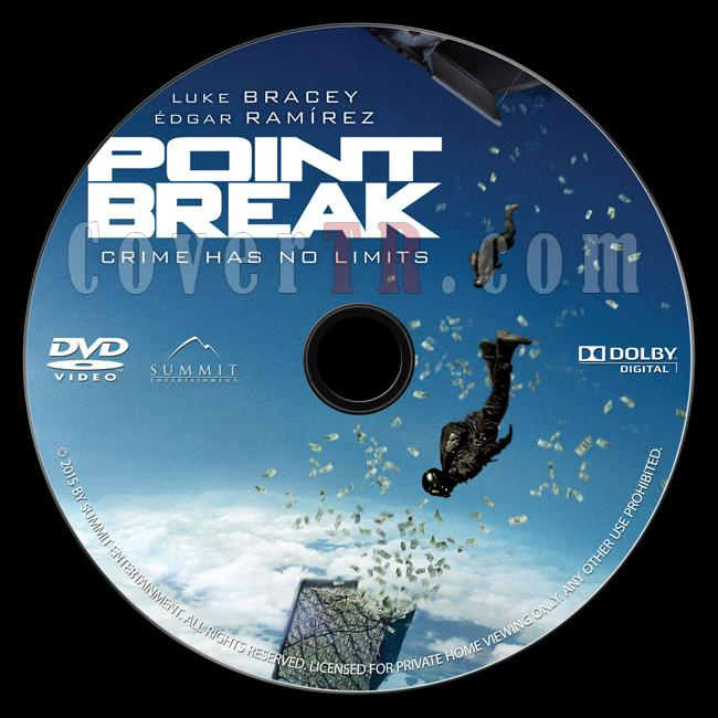 Point Break - Custom Dvd Label - English [2015]-onizlemejpg