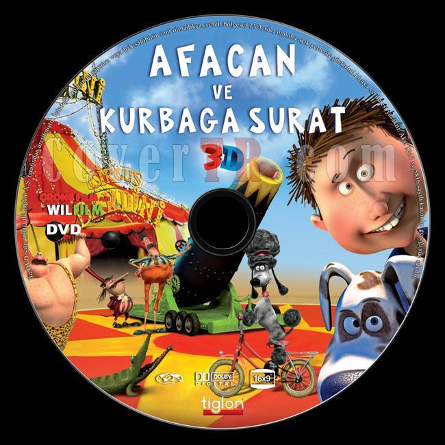 Freddy Frogface (Afacan Ve Kurbağa Surat) - Custom Dvd Label - Türkçe [2011]-afacan-ve-kurbaga-surat-3d-freddy-frogfacejpg