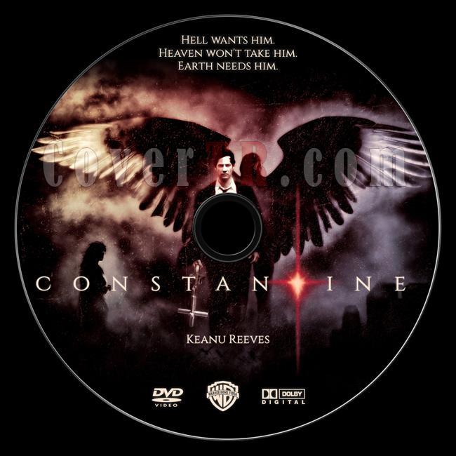 Constantine - Custom Dvd Label - English [2005]-constantine-custom-dvd-label-ctrjpg