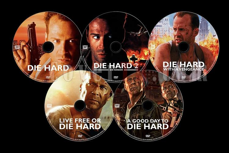 Die Hard Series (Zor Ölüm Serisi) - Custom Dvd Label Set - English [1988-2013]-die-hard-dvd-setjpg