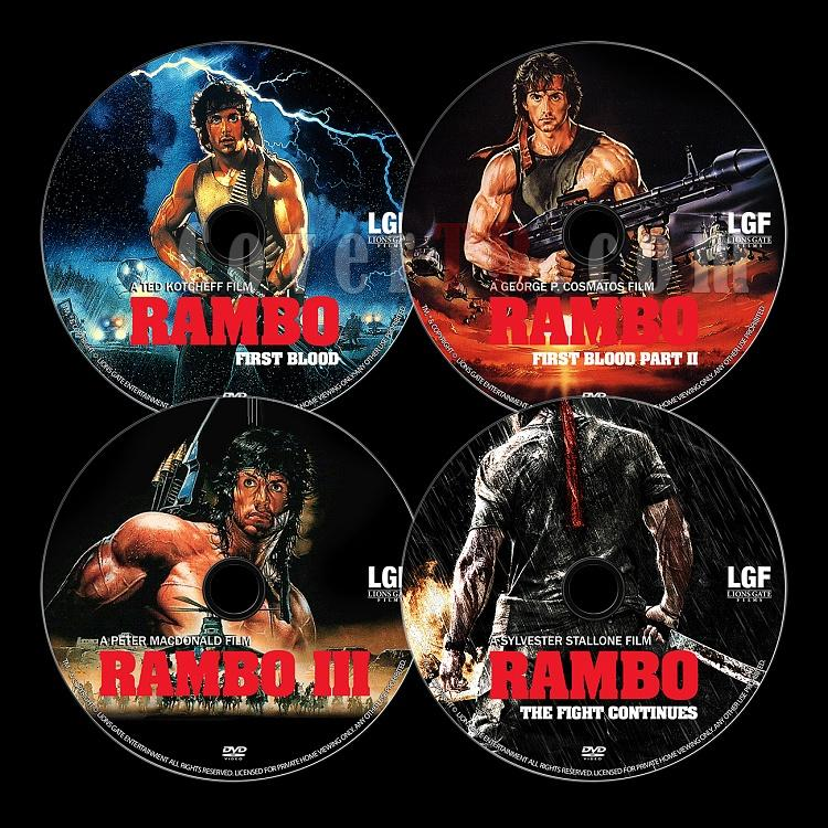Rambo Collection - Custom Dvd Label Set - English [1982-2008]-untitled-1jpg
