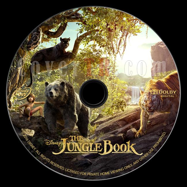 The Jungle Book (Orman Çocuğu) - Custom Dvd Label - English [2016]-onizlemejpg