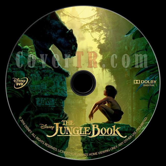 The Jungle Book (Orman Çocuğu) - Custom Dvd Label - English [2016]-onizlemejpg