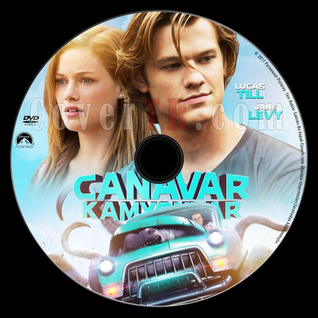 Monster Trucks (Canavar Kamyonlar) - Custom Dvd Label - Türkçe [2016]-dvdjpg